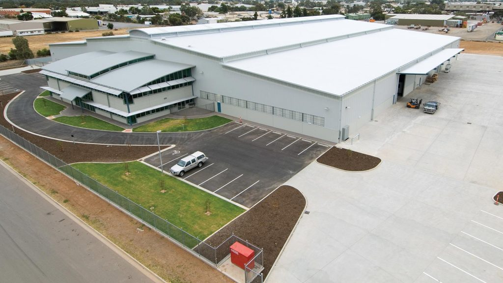 Construction Chemicals Adelaide HQ Exterior