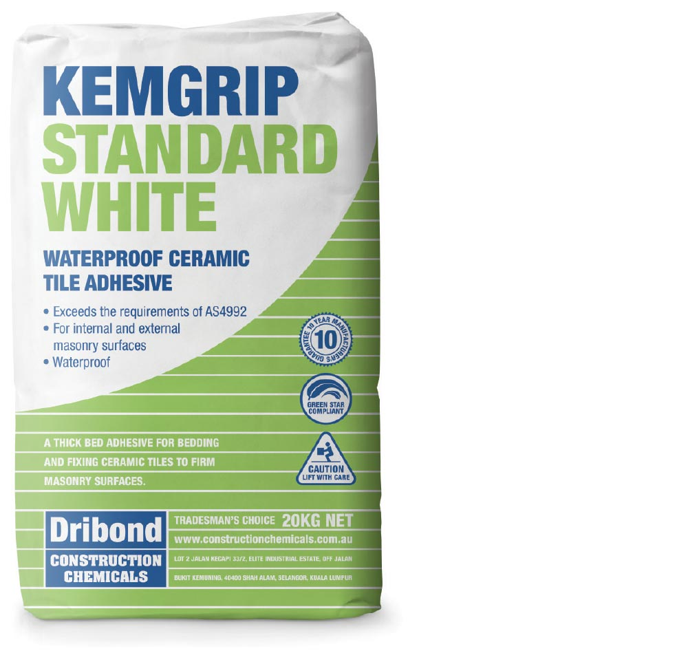 Kemgrip Standard White